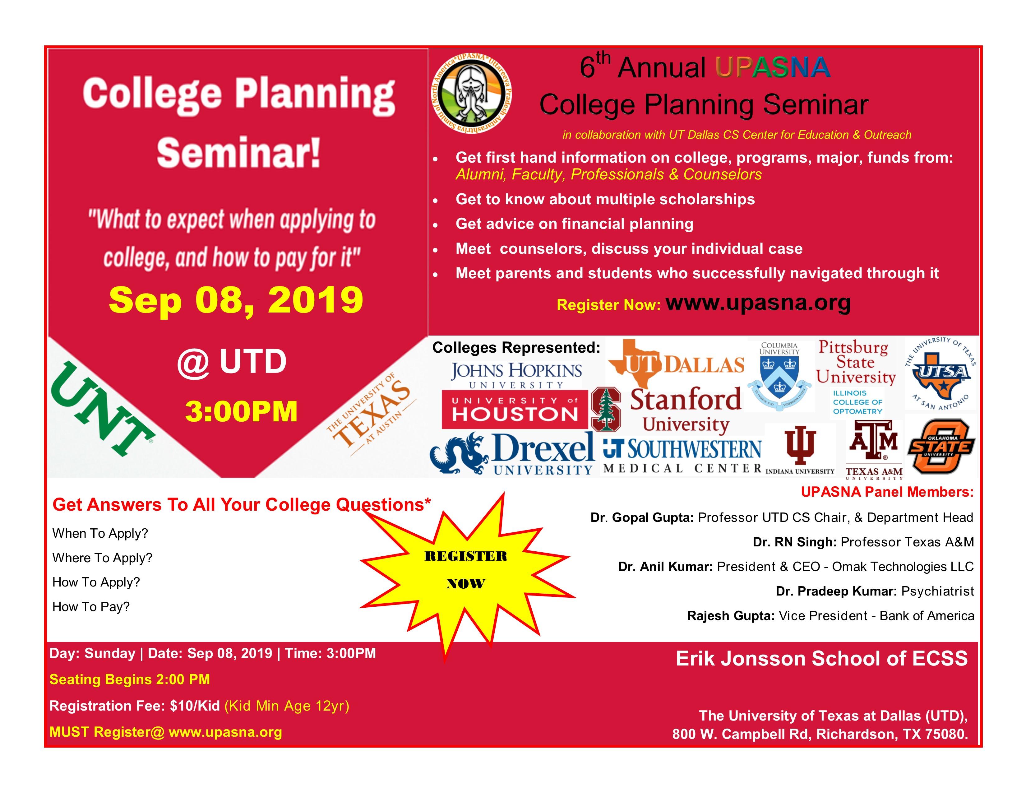 College Planning 2019