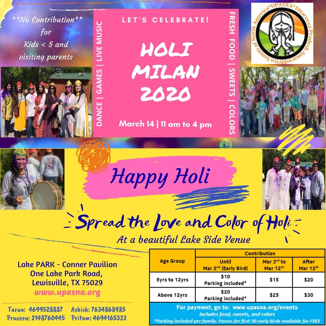 Holi Milan 2020